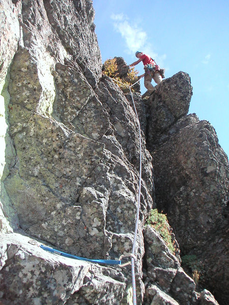 Tom on the FFA of the 2nd pitch.