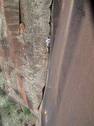 Rock Climbing Photo: A good, longish route.