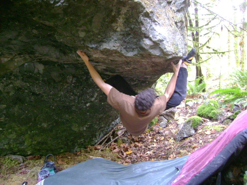 Rock Climbing Photo: Marc-Andre on Suicide Machine