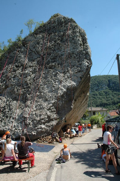 Rock Climbing Photo: The climbing festival, in late may.  Near the TH