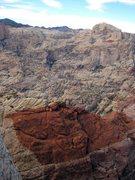 Rock Climbing Photo: The views from Birdhunter Buttress/Rainbow Wall ar...