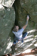 Rock Climbing Photo: mike on double chin