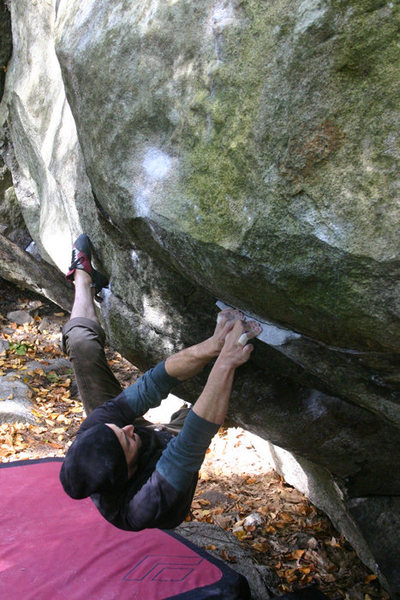 Rock Climbing Photo: I forget his name but i hope he sends soon... Dope...