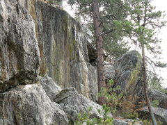 Rock Climbing Photo: I found some big boulders in the woods.