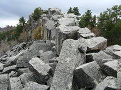 Rock Climbing Photo: Rocky ridge