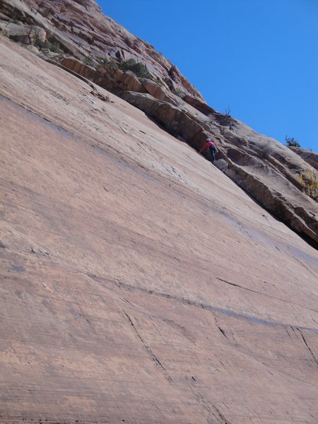 Rock Climbing Photo: Tana on positive mental attitude