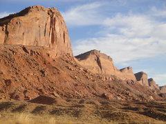Rock Climbing Photo: The Comb ridge