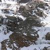 Columbine Falls on the right, taken 10/17/09.