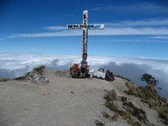 Rock Climbing Photo: Summit of Volcan Baru