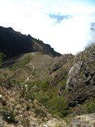 Rock Climbing Photo: Part of the descent from Volcan Baru