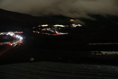 Rock Climbing Photo: Climbing Fuji via Yoshida at night during a full m...
