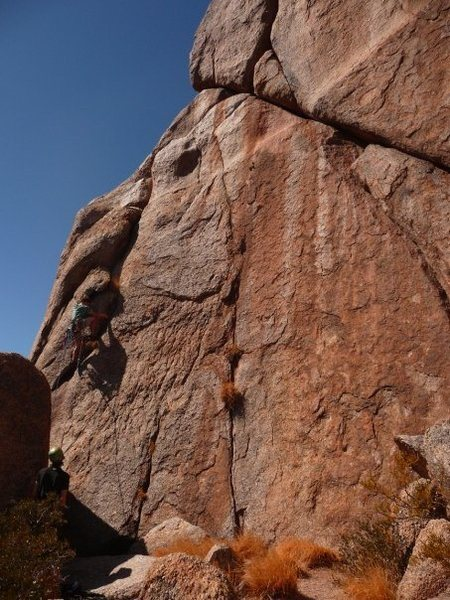 Rock Climbing Photo: First few moves after the stem sequence between th...