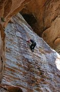 Rock Climbing Photo: Dyn-o-mite, Red River Gorge, KY