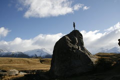 Rock Climbing Photo: Aurther's Pass, New Zealand- south island