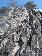 Rock Climbing Photo: Fun moves and full sun!