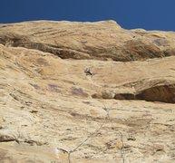 Rock Climbing Photo: Andy on Rat Trap