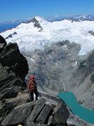 Rock Climbing Photo: West Ridge Forbidden Peak, North Cascades NP