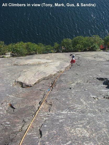 Rock Climbing Photo: Roger's Rock , Lake George