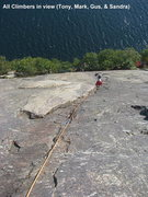 Rock Climbing Photo: Roger's Rock , Lake George