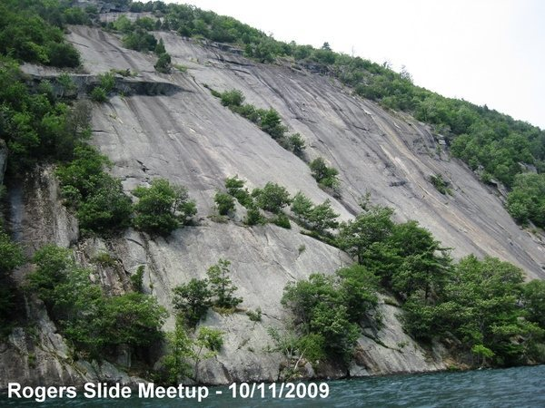 Rock Climbing Photo: Roger's rock Lake George NY