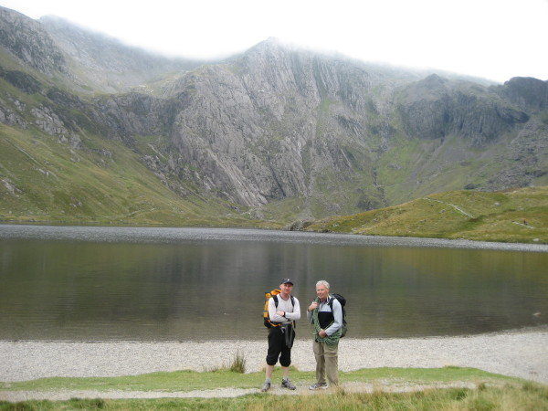 Idwal Slabs . Andy Ross Gene Vallee USA