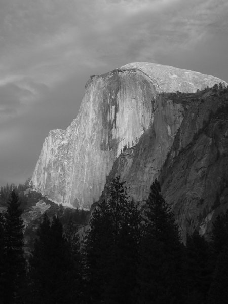 Rock Climbing Photo: classic Half Dome shot