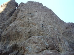 Rock Climbing Photo: Rap approx 160'
