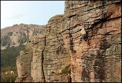 Rock Climbing Photo: Red Cloud