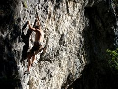 Rock Climbing Photo: Late afternoon at the Membrane