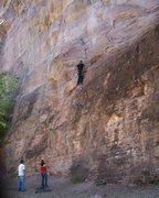 Rock Climbing Photo: Birthday climbing
