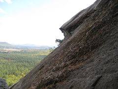Rock Climbing Photo: Just a cool sight on A belay ledge