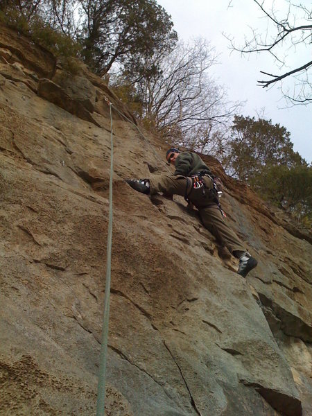 Rock Climbing Photo: don't really remember what the route was. 5.8 or s...