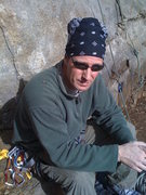 Rock Climbing Photo: takin a break