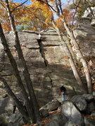 Rock Climbing Photo: Nearing the top of Boston