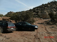 Rock Climbing Photo: My streamlined 97 civic...i mean ferrari