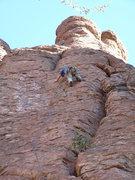 Rock Climbing Photo: EFR leading Accelerated Climbology