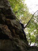 Rock Climbing Photo: Skye's first lead!