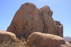 Rock Climbing Photo: Backside of Patch Dome has a couple of bolted rout...