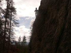 Rock Climbing Photo: trail creek CO
