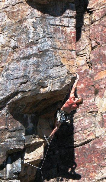 Rock Climbing Photo: Burning Bosch- 11a