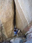Rock Climbing Photo: Starting up Haradrim.