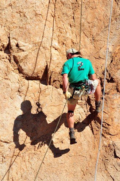 Rock Climbing Photo: Wolfeman