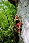 Rock Climbing Photo: Molly back in 2002