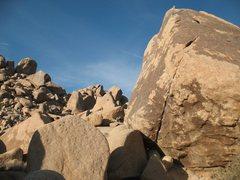 Rock Climbing Photo: Special K Crack (V5), Joshua Tree NP