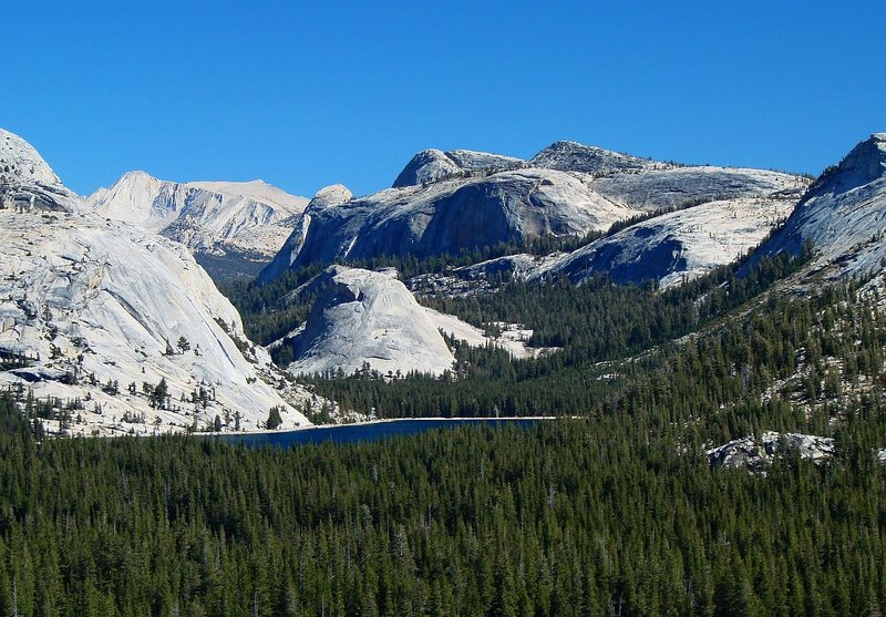 Rock Climbing Photo: Tenaya Lake from further up the road, September 20...