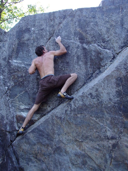 Rock Climbing Photo: this is one of the warm up problems