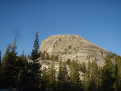 Rock Climbing Photo: Crescent Arch is the obvious corner on DAFF dome