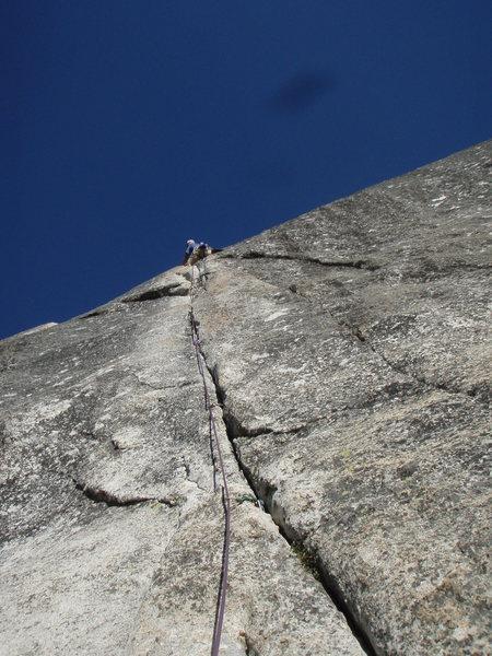 Rock Climbing Photo: Little Sheeba, Tuolumne Meadows