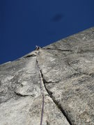Rock Climbing Photo: Little Sheeba, Tuolumne Meadows