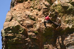 Rock Climbing Photo: Stephanie shows us old dudes what it means to be f...